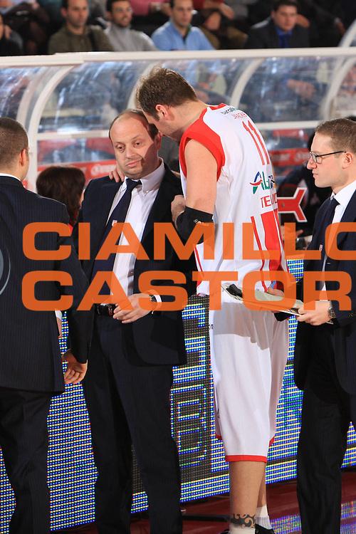 DESCRIZIONE : Teramo Lega A1 2008-09 Bancatercas Teramo Angelico Biella<br /> GIOCATORE : Andrea Capobianco Jacob Jaaacks<br /> SQUADRA : Bancatercas Teramo<br /> EVENTO : Campionato Lega A1 2008-2009<br /> GARA : Bancatercas Teramo Angelico Biella<br /> DATA : 31/01/2009<br /> CATEGORIA : ritratto<br /> SPORT : Pallacanestro<br /> AUTORE : Agenzia Ciamillo-Castoria/M.Carrelli