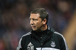 Aberdeen manager Derek McInnes.<br /> Falkirk 0 v 5 Aberdeen, the third round of the Scottish League Cup.<br /> &copy;Michael Schofield.
