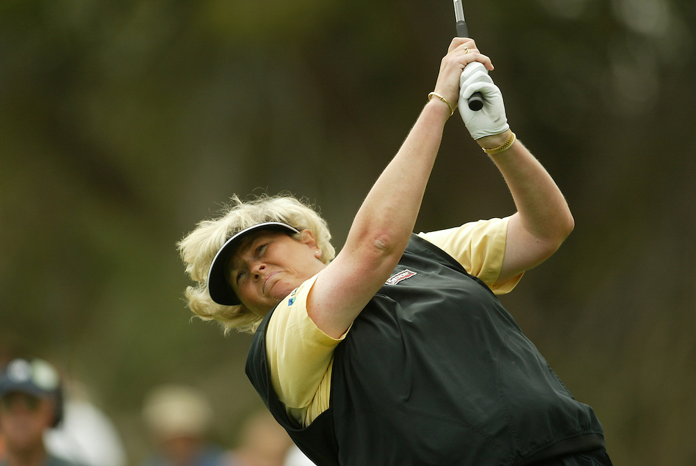 Laura Davies..LPGA Welch's Fry's Championship Round 3..Dell Urich GC at Randolph Park..Tucson, AZ..March 15, 2003..Photograph by Darren Carroll ..X67922, Take 2