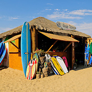 Cerritos Beach Club & Surf, Pacific ocean, Baja California, Mexico, North America