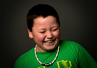 Laughing portrait of Brendan #3