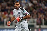 06.10.2016 - Torino - Qualificazioni Mondiali Russia 2016 - Italia-Spagna - Nella foto : Gianluigi Buffon - Nazionale italiana di calcio