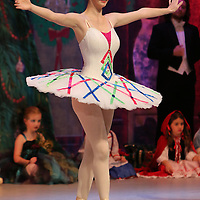 Libby Ezell | BUY AT PHOTOS.DJOURNAL.COM<br /> Cara Elizabeth Smart from Ballet Arkansas dances as one of the Mechanical Dolls in Saturday's Matinee of the Nutcracker
