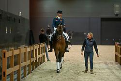 Minderhoud Hans Peter, NED, Glock's Johnson TN<br /> KWPN Hengstenkeuring - 's Hertogenbosch 2019<br /> © Hippo Foto - Dirk Caremans<br /> 01/02/2019