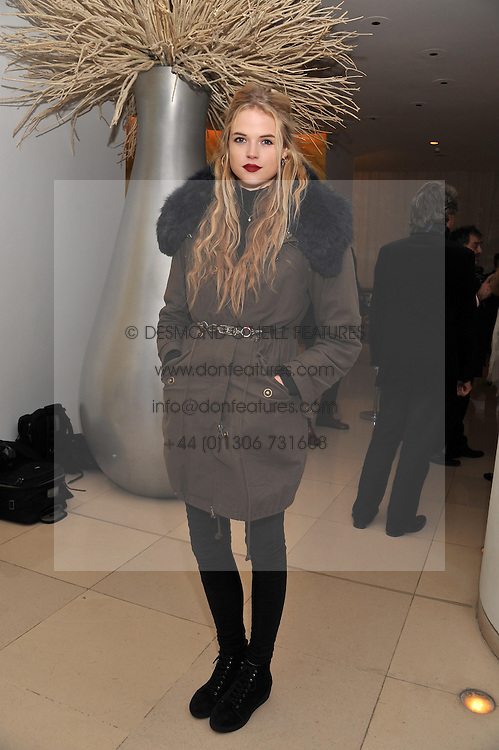 GABRIELLA WILDE at the pre party for the English National Ballet's Christmas performance of The Nutcracker held at the St.Martin's Lane Hotel, St.Martin's Lane, London on 14th December 2011.