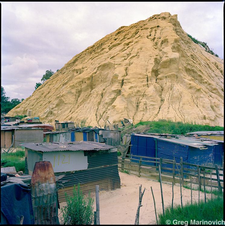 Jerusalem, East Rand, ERP Mine, South Africa, 2012. Greg Marinovich