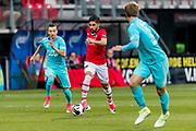 ALKMAAR - 22-04-2017, AZ - FC Twente, AFAS Stadion,2-1, AZ speler Alireza Jahanbakhsh