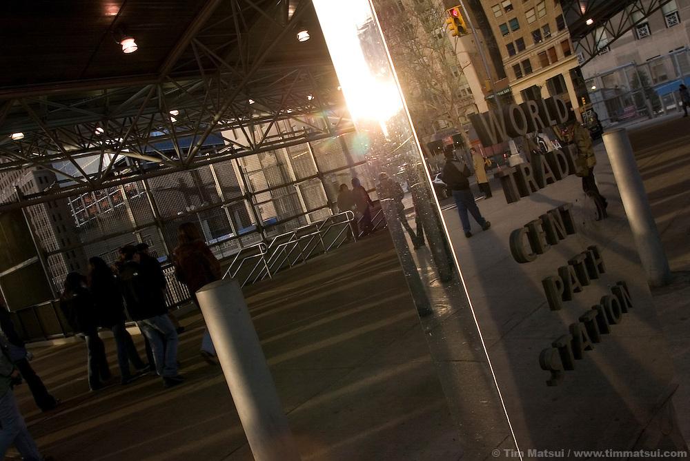 New York City scenes.