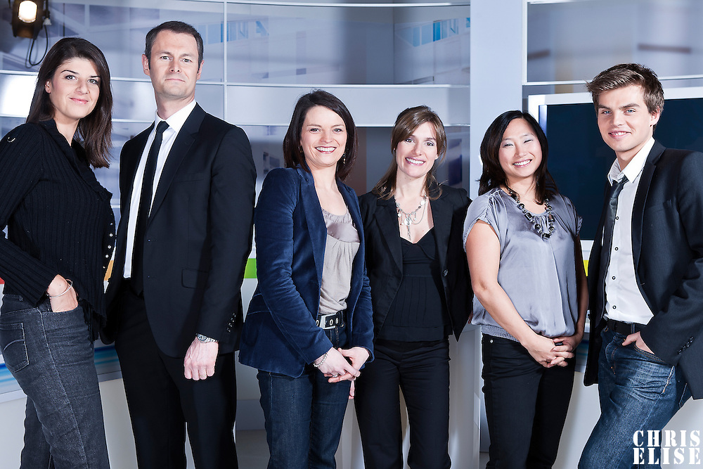 Vanessa Boulares, Emmanuel Faure, Virginie Charbonneau, Christelle Pineau, Marion Naumann, Sebastien Thomas