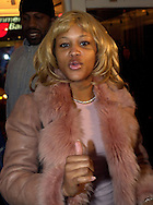 PHILADELPHIA - DECEMBER 14: Grammy award winning singer, Eve, appears at the opening of the new Kiehl's store to benefit the Mary Jane Home Enrichment Center, December 14, 2002, in Philadelphia, Pennsylvania. On behalf of Eve, Kiehl's donated $5,000 to the center, which helps the community of North Philadelphia by feeding and giving service to up to 475 homeless people a day. (Photo by William Thomas Cain/Getty Images)