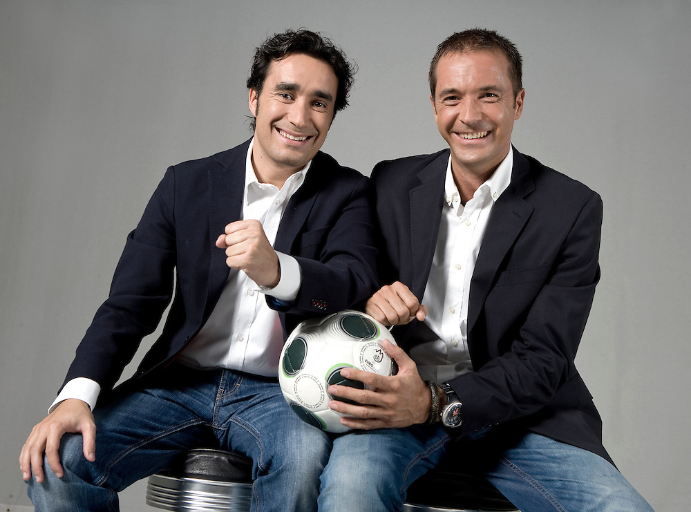JUANMA CASTAÑO & MANU CARREÑO. Sports journalists.