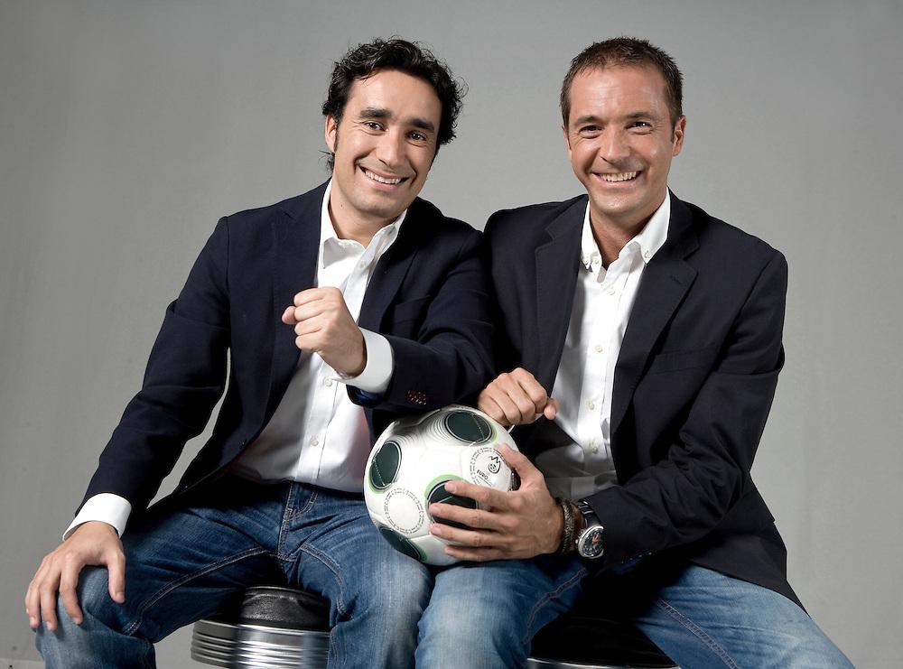 JUANMA CASTAÑO & MANU CARREÑO. Sports journalists.