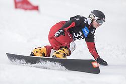 Sztokfisz Karolina during the FIS snowboarding world cup race in Rogla (SI / SLO) | GS on January 20, 2018, in Jasna Ski slope, Rogla, Slovenia. Photo by Urban Meglic / Sportida