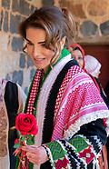 Queen Rania Visits Irbid
