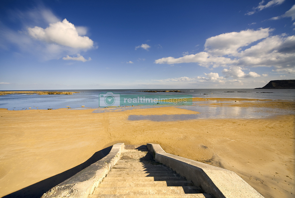 July 21, 2019 - Steps To Beach, Scarborough, North Yorkshire, England (Credit Image: © John Short/Design Pics via ZUMA Wire)