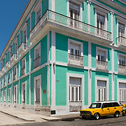 Colonial architecture in Cienfuegos, Cuba