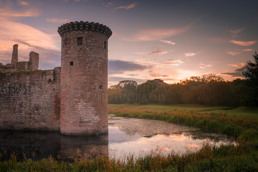 Dumfries and Galloway commission for Visit Scotland Caerlaverock Castle
