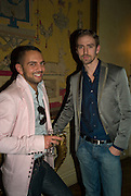 MOHIEB AND CHRISTIAN HELLAND, Launch of  ñMy Beautiful Gameî by Nancy DellÍOlio<br />