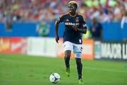 FRISCO, TX - AUGUST 11:  Gyasi Zardes #29 of the Los Angeles Galaxy controls the ball against FC Dallas on August 11, 2013 at FC Dallas Stadium in Frisco, Texas.  (Photo by Cooper Neill/Getty Images) *** Local Caption *** Gyasi Zardes