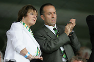 London - Saturday August 15th, 2009: Norwich City owner Delia Smith during the Coca Cola League One match at St James Park, Exeter. (Pic by Mark Chapman/Focus Images)