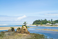 Taft beach in Lincoln City, Oregon.