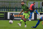 Forest Green Rovers Dominic Bernard(3) passes the ball forward during the The FA Cup match between Forest Green Rovers and Billericay Town at the New Lawn, Forest Green, United Kingdom on 9 November 2019.