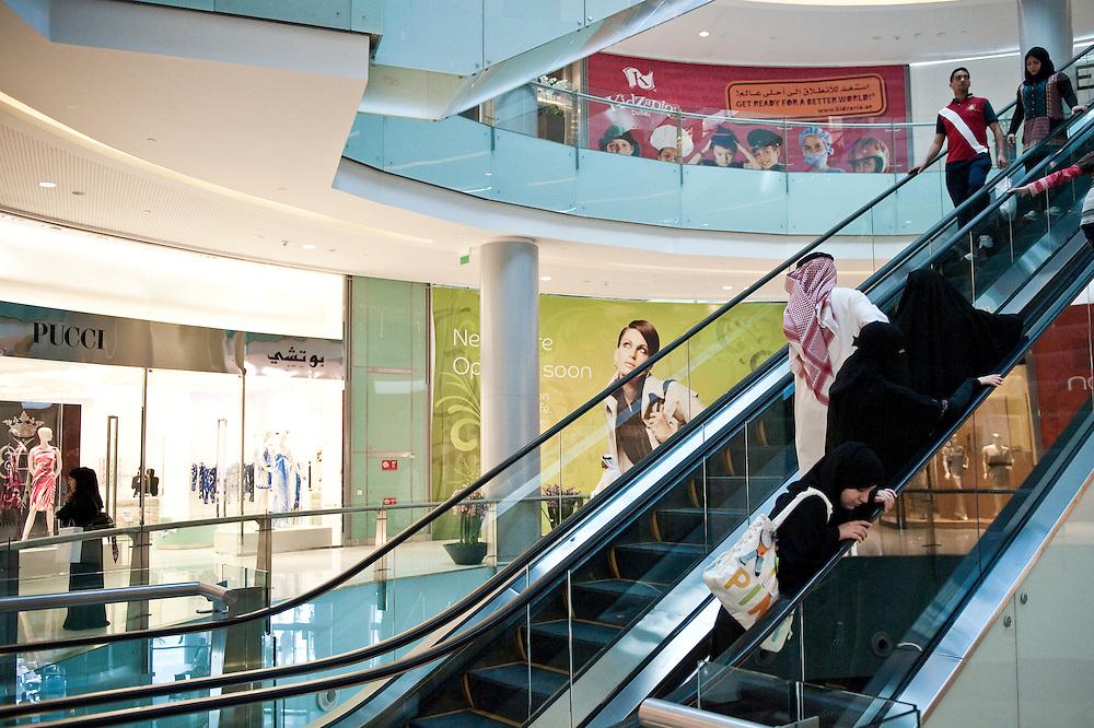 Dubai Mall,Dubai, UAE on February 10,2010