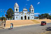Nicaragua / Masatepe / Church / Three Wheel Taxi
