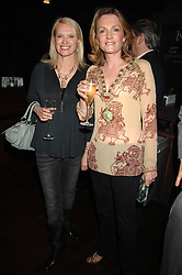 Left to right, ANNEKA RICE and LADY LLOYD-WEBBER at a party to celebrate Imogen Lloyd Webber's her 30th birthday and the launch of her Single Girl's Guide held at Vilstead, 9 Swallow Street, London on 27th March 2007.<br />