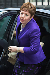 Downing Street, London, October 27th 2015.  Leader of the House of Lords Baroness Stowell arrives at 10 Downing Street to attend the weekly cabinet meeting. /// Licencing: Paul Davey tel: 07966016296 or 02089696875 paul@pauldaveycreative.co.uk www.pauldaveycreative.co.uk