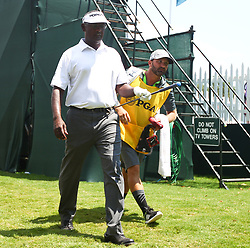 August 10, 2017 - Charlotte, North Carolina, United States - Vijay Singh (L) and his caddie Daniel Sahl walk off the 17th green during the first round of the 99th PGA Championship at Quail Hollow Club. (Credit Image: © Debby Wong via ZUMA Wire)