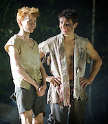 Lord of the Flies<br /> by William Golding <br /> adapted for stage by Nigel Williams<br /> at Regent's Park, Open Air Theatre, London, Great Britain <br /> press photocall<br /> 20th May 2011<br /> <br /> <br /> Photograph by Elliott Franks