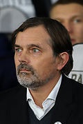 Derby County Manager Phillip Cocu during the The FA Cup match between Derby County and Northampton Town at the Pride Park, Derby, England on 4 February 2020.