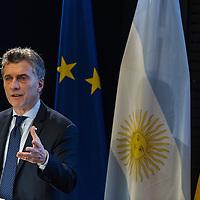 05 Mauricio Macri spricht in der Adenauer Stiftung