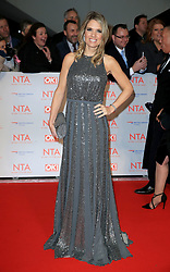 at the National Television Awards at the 02 Arena in London, UK. 24 Jan 2018 Pictured: Charlotte Hawkins. Photo credit: MEGA TheMegaAgency.com +1 888 505 6342