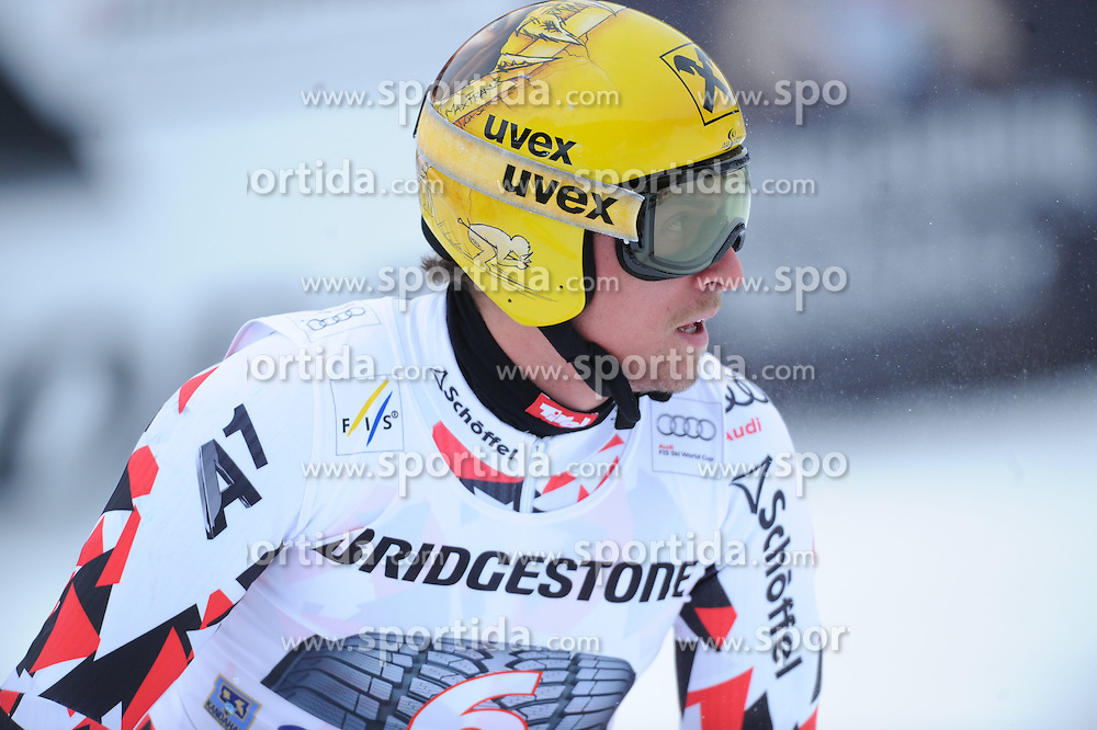 27.02.2015, Kandahar, Garmisch Partenkirchen, GER, FIS Weltcup Ski Alpin, Abfahrt, Herren, 2. Training, im Bild Max Franz of Austria // during the 2nd trainings run for the men's Downhill of the FIS Ski Alpine World Cup at the Kandahar in Garmisch Partenkirchen, Germany on 2015/02/27. EXPA Pictures © 2015, PhotoCredit: EXPA/ Erich Spiess