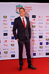 LIVERPOOL, ENGLAND - Thursday, May 10, 2018: Liverpool's goalkeeper Adam Bogdan arrives on the red carpet for the Liverpool FC Players' Awards 2018 at Anfield. (Pic by David Rawcliffe/Propaganda)