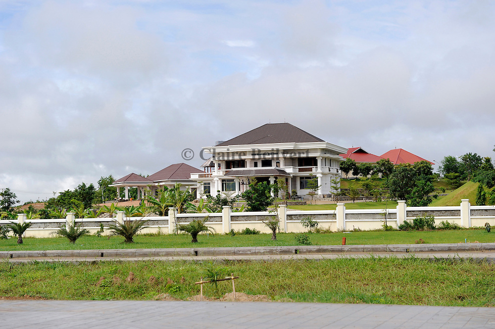 Villa for military people in Naypyidaw.