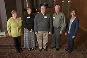 Staff with thirty years of service pose for a portrait during the 48th Annual Classified Staff Service Awards in Baker Center Ballroom on Friday, October 14, 2016.