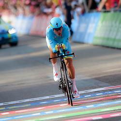 06-05-2016: Wielrennen: Giro: ApeldoornAPELDOORN (NED) wielrennenDe 99e ronde van Italie is van start gegaan met een tijdrit of 9,8 kilometer door de straten van Apeldoorn. De finishlijn was getrokken op de Loolaan.