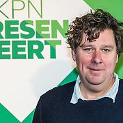 NLD/Amsterdam/20161117 - KPN Presenteert nieuwe programma's, Diederik Ebbinge