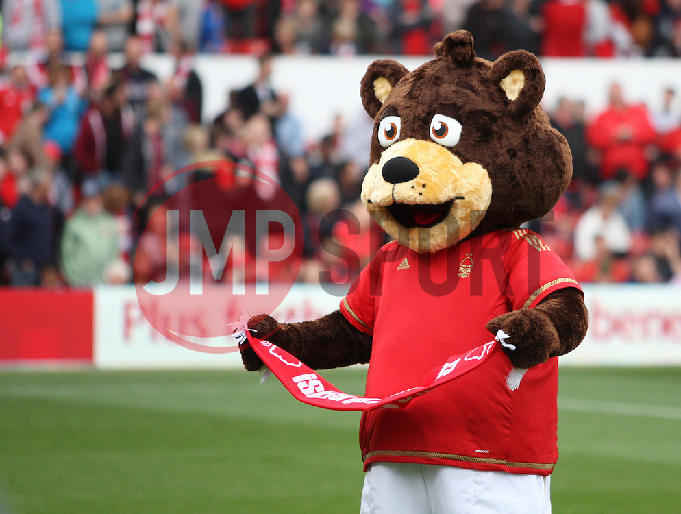 General view of the Nottingham Forest mascot before the match - Mandatory byline: Jack Phillips / JMP - 07966386802 - 3/10/2015 - FOOTBALL - The City Ground - Nottingham, Nottinghamshire - Nottingham Forest v Hull City - Sky Bet Championship