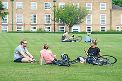 ©Licensed to London News Pictures 08/05/2020  <br /> Blackheath, UK. People already out from lockdown today enjoying the warm sunny weather on Blackheath common, Blackheath, London.<br /> Photo credit:Grant Falvey/LNP