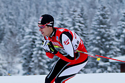 17.12.2011, Casino Arena, Seefeld, AUT, FIS Nordische Kombination, Langauf 10 km, im Bild Lukas Klapfer (AUT) // Lukas Klapfer of Austria during the cross-country skiing 10 km at FIS Nordic Combined World Cup in Sefeld, Austria on 20111211. EXPA Pictures © 2011, PhotoCredit: EXPA/ P.Rinderer