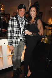 LAPO ELKANN and PIA MAROCCO at a party hosted by Allegra Hicks to launch Lapo Elkann's fashion range in London held at Allegra Hicks, 28 Cadogan Place, London on 14th November 2007.<br />