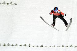 06-02-2014 SCHANSSPRINGEN: OLYMPIC GAMES: SOTSJI<br /> Training Schansspringen op het Russki Gorki Jumping Center / Andreas Wank GER<br /> ©2014-FotoHoogendoorn.nl<br />  / Sportida
