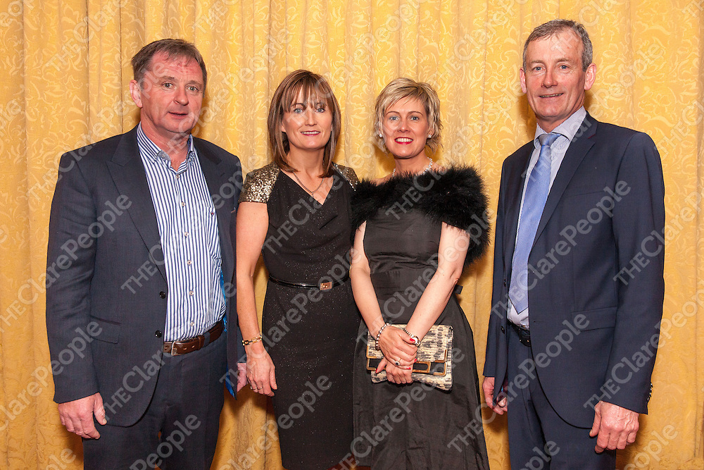 Gerry and Catherine Kelly, Maire Glynn and John Shannon from Corofin