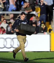 - Photo mandatory by-line: Joe Meredith/JMP - Tel: Mobile: 07966 386802 06/10/2013 - SPORT - FOOTBALL - RUGBY UNION - Memorial Stadium - Bristol - Bristol Rugby V Bedford Blues - The Championship