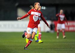 Julie Biesmans of Bristol City in action -Mandatory by-line: Nizaam Jones/JMP - 06/01/2019 - FOOTBALL - Stoke Gifford Stadium- Bristol, England - Bristol City Women v Manchester City Women - FA Women's Super League 1