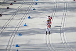 McKEEVER Brian Guide: CARLETON Erik competing in the Nordic Skiing XC Long Distance at the 2014 Sochi Winter Paralympic Games, Russia